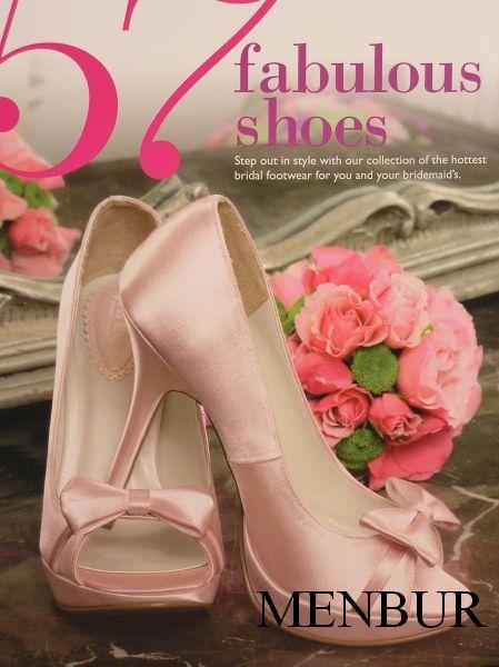 MENBUR esküvői cipő