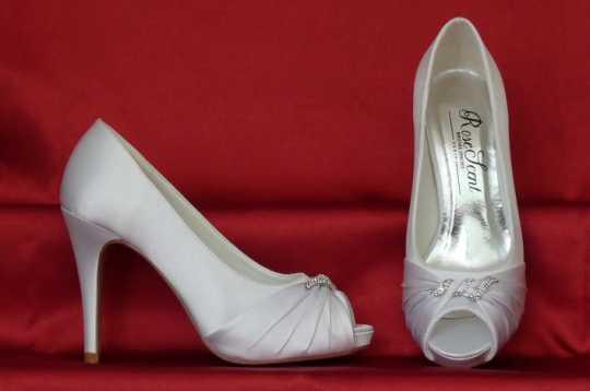 Rose Scent menyasszonyi cipők