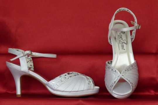 Rose Scent menyasszonyi cipő